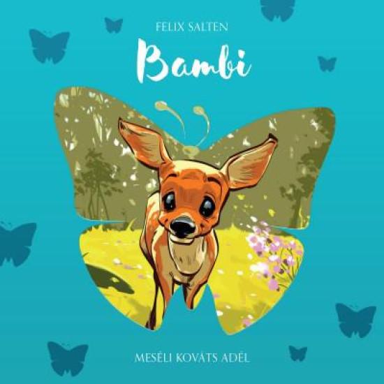 Felix Salten Bambi - Meséli Kováts Adél (Hangoskönyv) (CD) | Lemezkuckó CD bolt