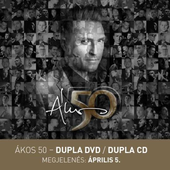 Ákos 50 Jubileumi akusztikus koncert (2 DVD) (DVD) | Lemezkuckó CD bolt