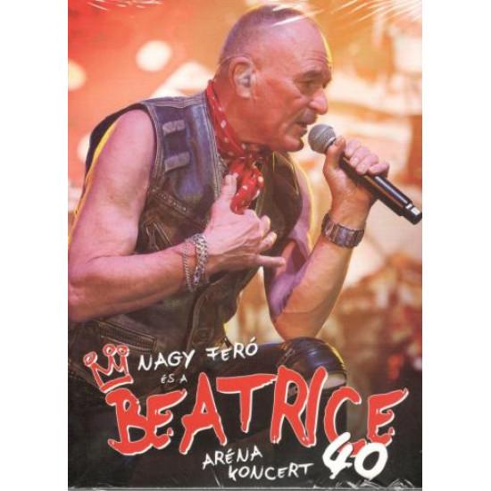 Nagy Feró és a Beatrice Beatrice 40: Aréna koncert + Ami az Arénából kimaradt DVD+3CD Box (DVD)   Lemezkuckó CD bolt