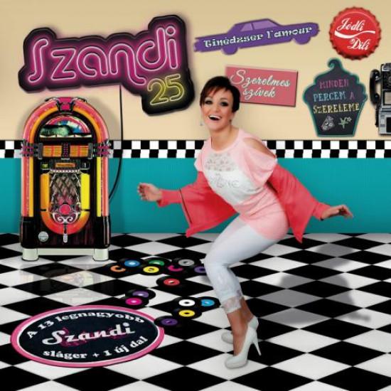 Szandi – 25 CD