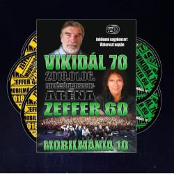Jubileumi Nagykoncert 2018.01.06. Bp. Sportaréna 2DVD+3CD
