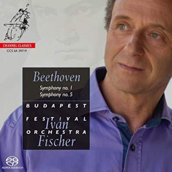 Budapest Festival Orchestra & Iván Fischer Beethoven: Symphonies No.1 & 5 (CD) | Lemezkuckó CD bolt