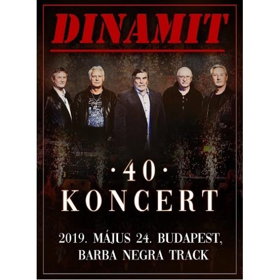 40 - Koncert: 2019. május 24. Budapest, Barba Negra Track DVD<br/><h5>Megjelenés: 2020-12-18</h5>