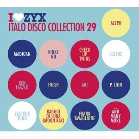 Zyx Italo Disco Collection 29 Zyx Italo Disco Collection 29 (3 CD) (CD)   Lemezkuckó CD bolt