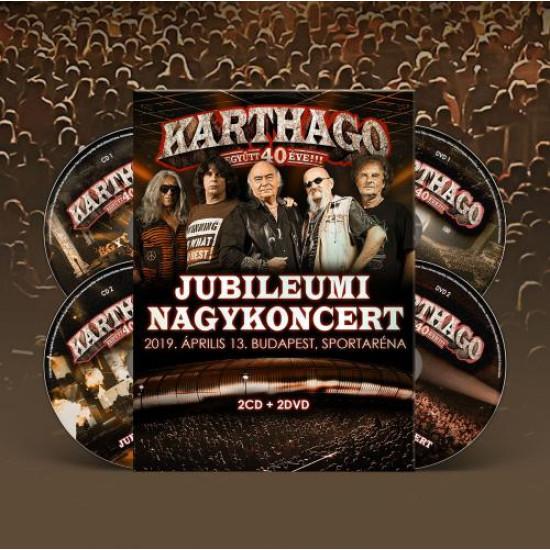 Együtt 40 éve jubileumi nagykoncert 2019.04.13.  (2 CD+2 DVD)