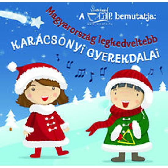 Magyarország legkedveltebb karácsonyi gyerekdalai