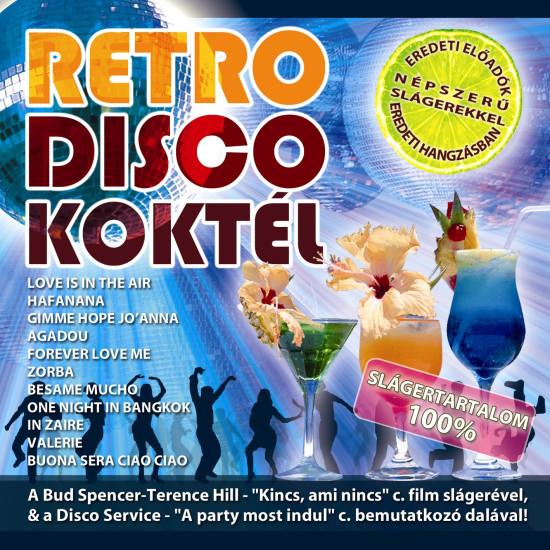 Válogatás Retro Disco Koktél (CD)   Lemezkuckó CD bolt