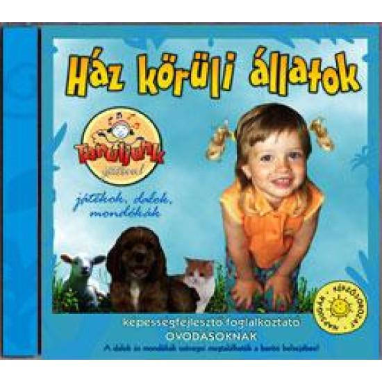 Válogatás HÁZ KÖRÜLI ÁLLATOK CD (CD)   Lemezkuckó CD bolt