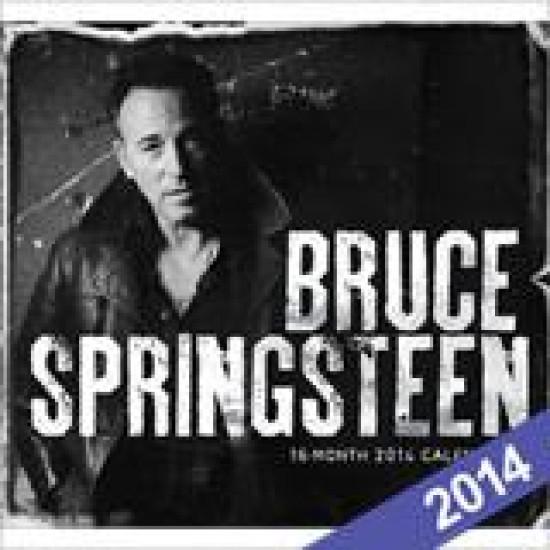 Bruce Spingsteen falinaptár 2014 Bruce Springsteen falinaptár 2014 (Egyéb) | Lemezkuckó CD bolt