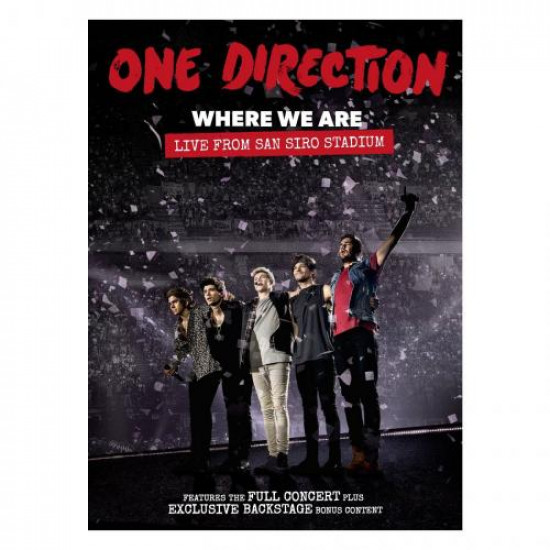 One Direction Where We Are: Live From San Siro Stadium  dvd EU kiadas (DVD) | Lemezkuckó CD bolt