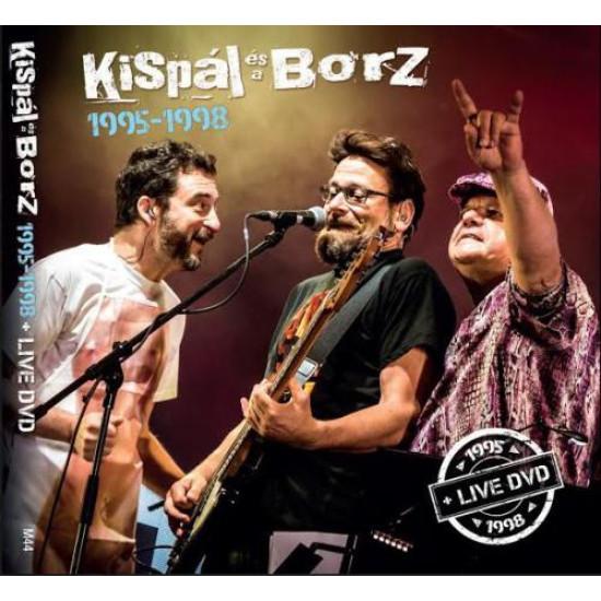 Kispál és a Borz Kispál és a Borz 1995-1998 + Live DVD  (4CD + DVD) (CD)   Lemezkuckó CD bolt