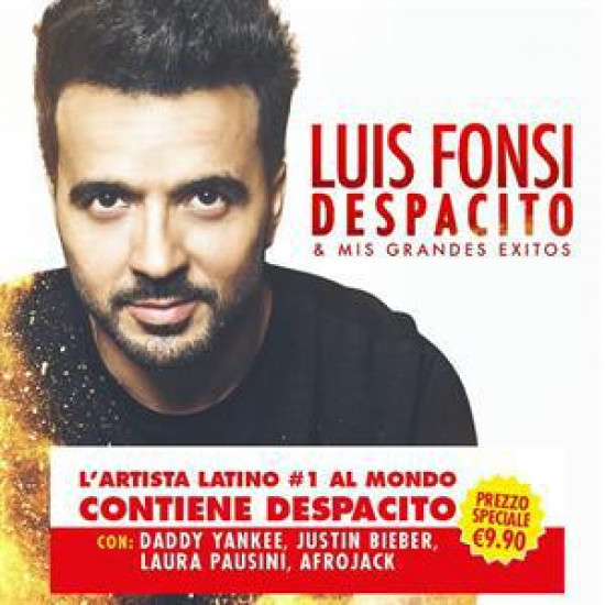 LUIS FONSI DESPACITO & MIS GRANDES Exitos (CD) | Lemezkuckó CD bolt